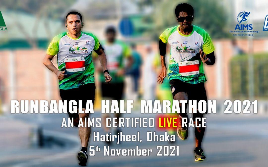 2021 RUNBANGLA Half Marathon (Live)